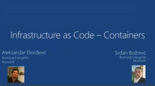 3 | Infrastructure as Code – Containers