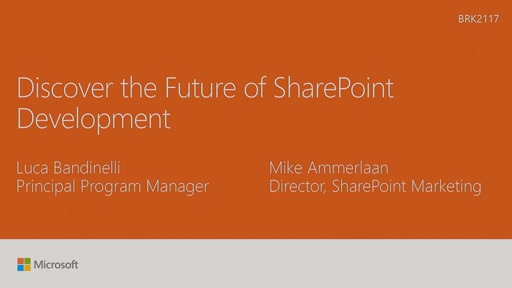 Discover the future of Microsoft SharePoint development