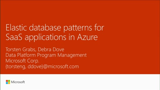 Create elastic database patterns for SaaS applications in Azure