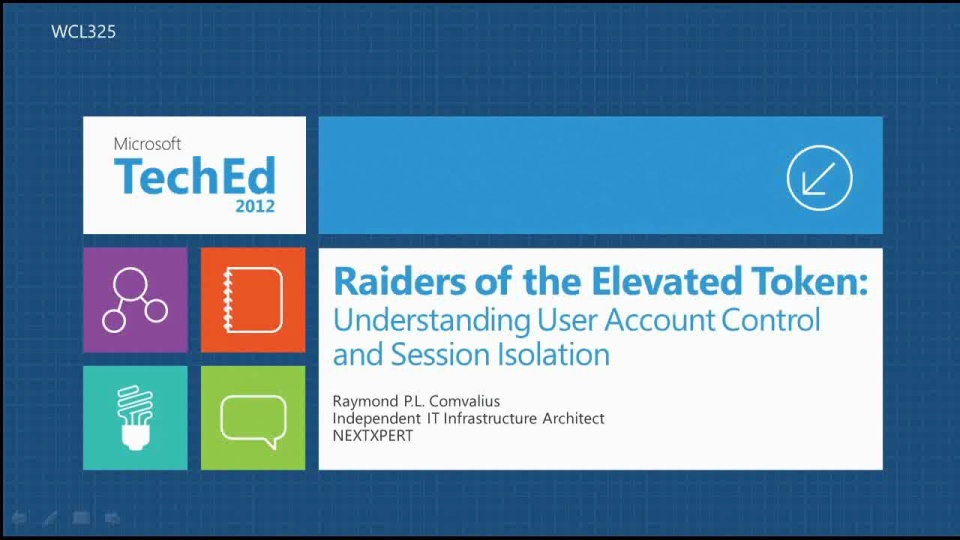 Raiders of the Elevated Token: Understanding User Account Control and Session Isolation