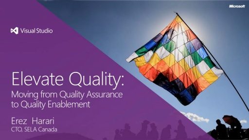 Elevate Quality: Moving from Quality Assurance to Quality Enablement