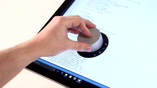 Programming the Microsoft Surface Dial