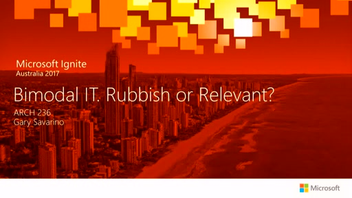 Bimodal IT. Rubbish or Relevant? - Presented by Quest
