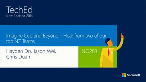 Imagine Cup and Beyond – Hear from two of our top NZ Teams