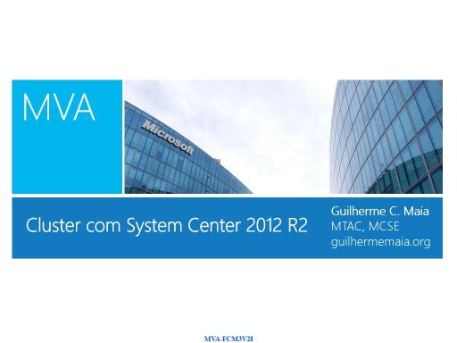 Cluster Scale-OUT File Sever com System Center 2012 R2