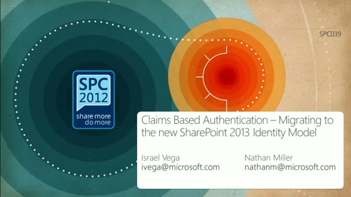 Claims Based Authentication - Migrating to the new SharePoint 2013 Identity Model