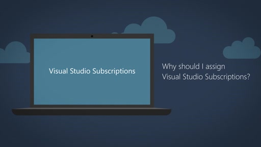 Why should I assign Visual Studio Subscriptions?