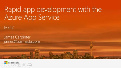 Rapid app development with the Azure App Service