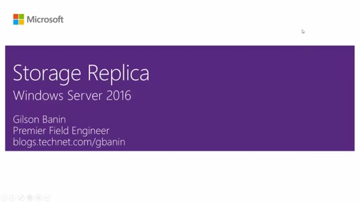 Configurando o Storage Replica no Windows Server 2016
