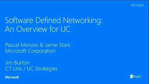 Software Defined Networking: An Overview for UC