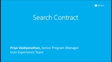 Search Contract