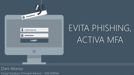 [Seguridad] Evita phishing, activa Multi-Factor Authentication.
