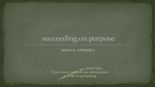 Succeeding On Purpose