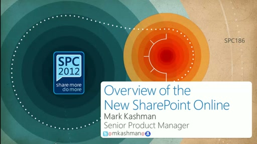 Overview of the New SharePoint Online
