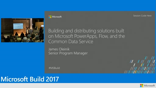 Building and distributing solutions built on Microsoft PowerApps, Flow, and CDS