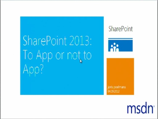 SharePoint Server 2013: to app or not to app?