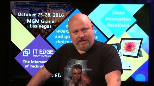 Ned Pyle digs into Server 2016 and Modern Storage at ITEdge intersection Fall Count Down Show #4