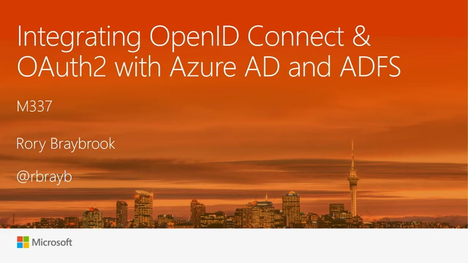 Integrating OpenID Connect / OAuth2 with Azure AD and ADFS ...