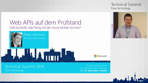 Web APIs auf dem Prüfstand: Volle Kontrolle oder Out-of-the-Box mit den Azure Mobile Services?