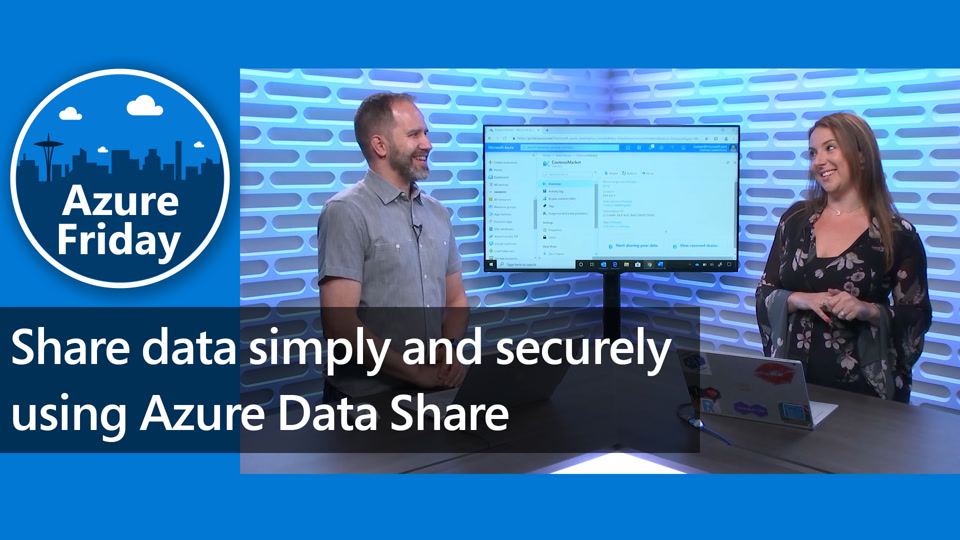 Share data simply and securely using Azure Data Share