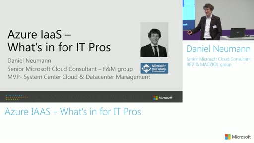 Azure IaaS - What's in for IT Pros?