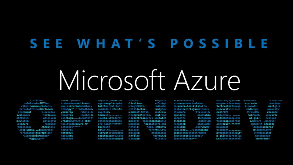 Missed Azure OpenDev 10.2017? No worries. Watch the videos on-demand now!
