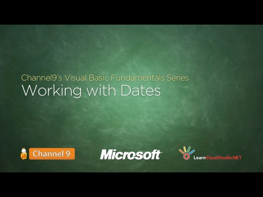 Working with Dates - 13
