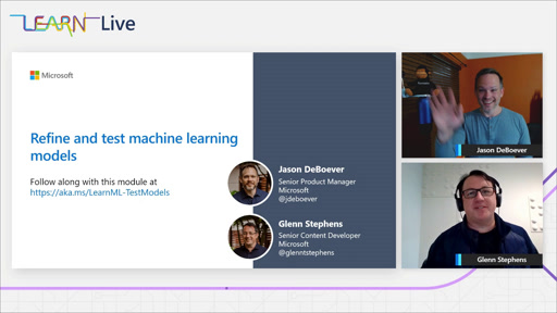 Refine and test machine learning models