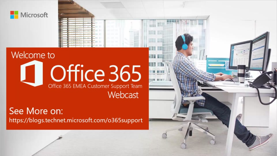 support corner webcast sharepoint online administration welcome
