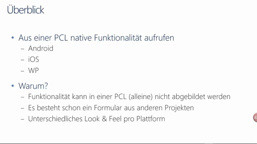 Visual Studio in 5 Minuten - Xamarin Forms mit Native-Forms mischen