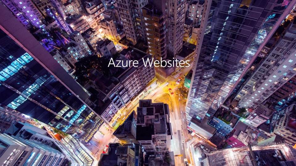 Azure Websites Introduction