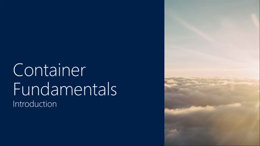 Container Fundamentals | Part 1 - Introduction