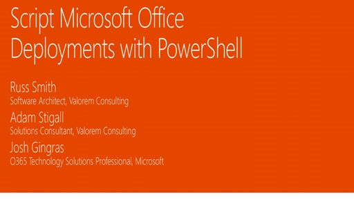Script Microsoft Office deployments with PowerShell