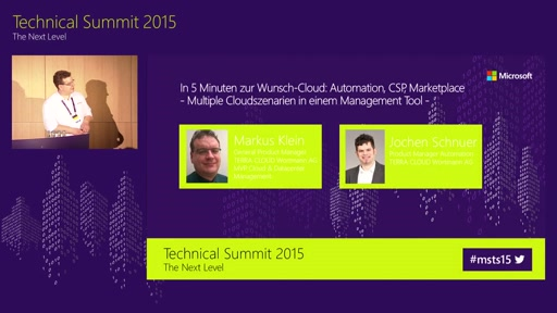 In 5 Minuten zur Wunsch-Cloud: Automation, CSP, Marketplace, multiple Cloudszenarien in einem Management Tool