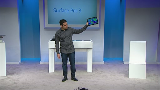 B-roll:  Microsoft Unveils Surface Pro 3