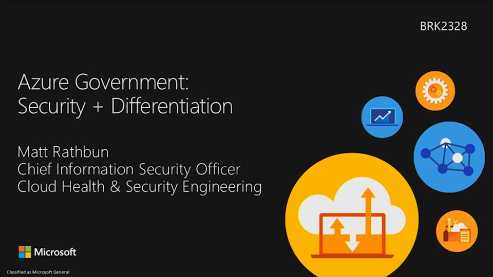 Azure Government Security + Differentiation