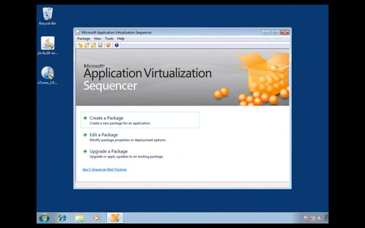 Application Virtualisation. Часть 4. Практика виртуализации (секвенсирования) приложений.