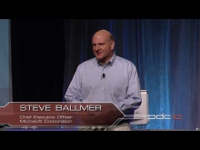 PDC10 keynotes with Steve Ballmer and Bob Muglia