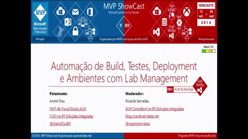 Automação de Build, Testes, Deployment e Ambientes com Lab Management