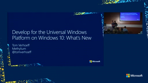 Developing for the Universal Windows Platform on Windows 10: What's New