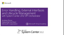 (Module 7) Errors, External Interfaces & Lifecycle Management