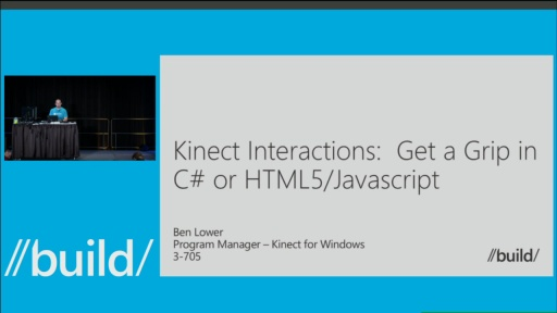 Kinect Interactions: Get a Grip in C# or HTML5/Javascript