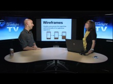 Silverlight TV 83: Using Wireframes to Visually Communicate a Windows Phone Experience