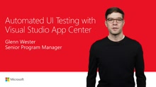 Automate app UI tests with Visual Studio App Center