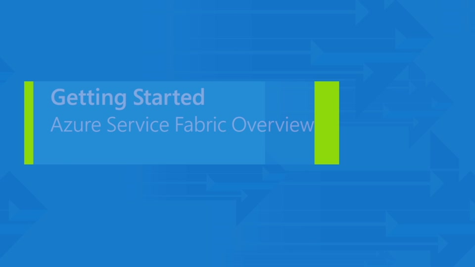 Overview of the Azure Service Fabric