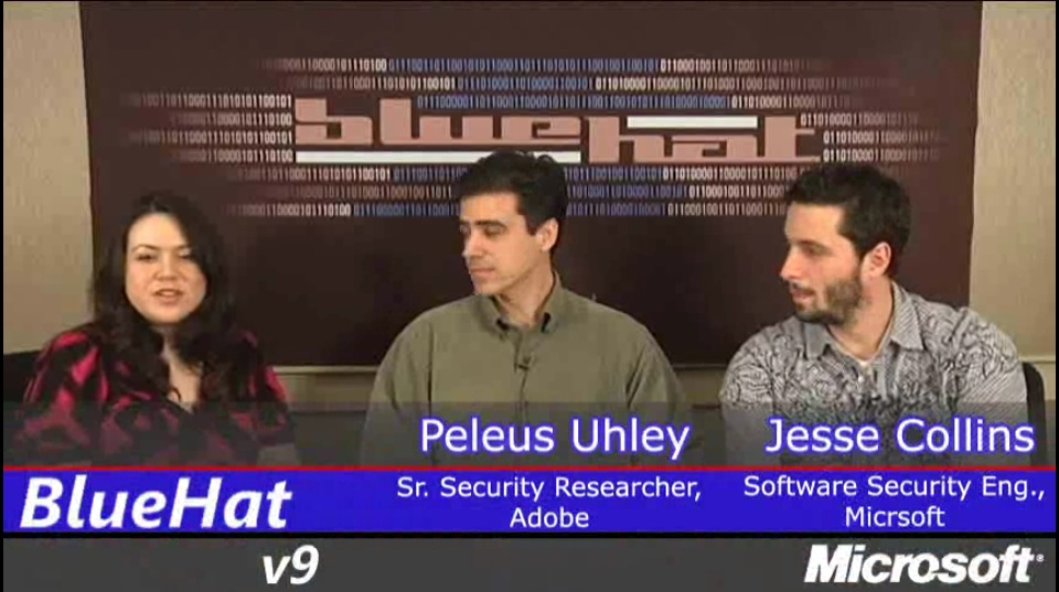 Interview with Katie Moussouris and Peleus Uhley & Jesse Collins
