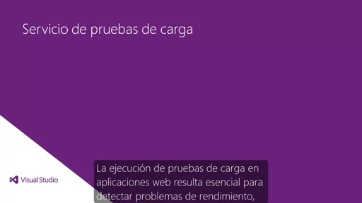 Visual Studio 2013 Ultimate: Pruebas de carga en la nube
