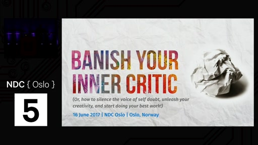 Talk: Banish Your Inner Critic v2.0