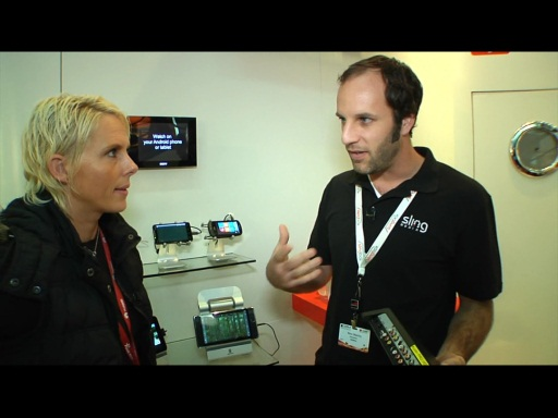 SlingBox on Windows Phone 7 from Mobile World Congress