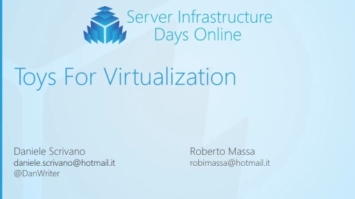 HV03 – Toys for Virtualization